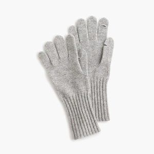NEW J. Crew Everyday Texting Gloves Cashmere